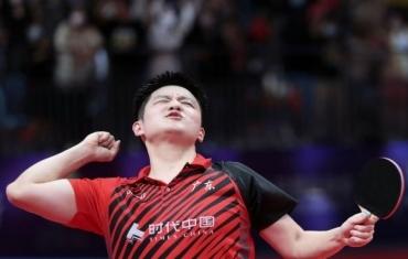 樊振东全运会上逆转战胜马龙
