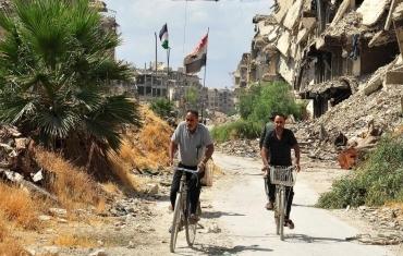叙利亚:残垣断壁下的返乡