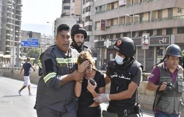 黎巴嫩首都发生枪击事件