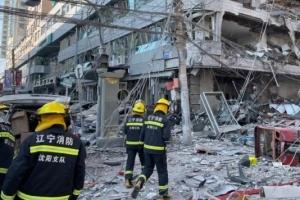 沈阳爆炸事故初判为商住楼楼内爆炸
