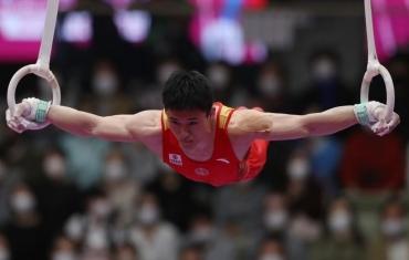 体操-世锦赛男子个人全能决赛:侍聪获得第六名