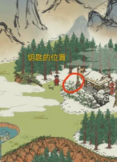 江南百景图春节限时探险宝箱及钥匙位置大全