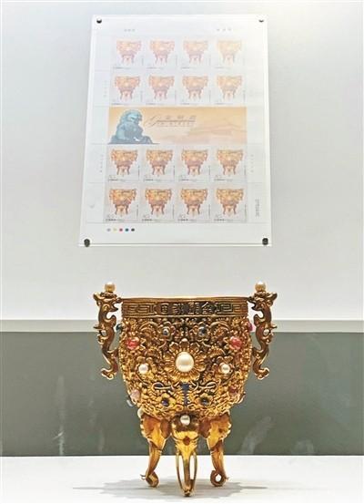 """25件故宫文物 让邮票""""活了"""""""
