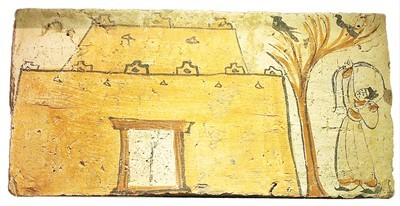 彩绘画像砖亮相国博 走近魏晋人的多彩生活