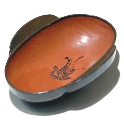 西汉漆木耳杯   动脉影摄