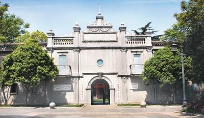中共五大会址纪念馆。