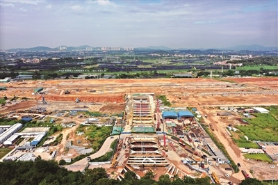 广州铁路集装箱中心站计划投资约76亿元 将打通中欧等世界级铁路物流枢纽
