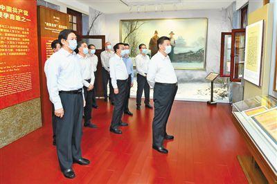 习近平在中共中央政治局第三十一次集体学习时强调 用好红色资源赓续红色血脉 努力创造无愧于历史和人民的新业绩