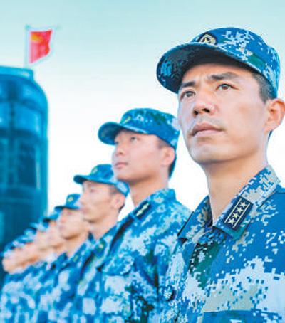 """海军潜艇某支队教练艇长胡晓舟——""""我们一定守好祖国海疆!"""""""