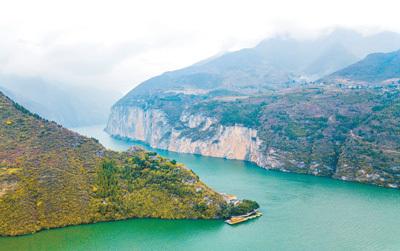 重庆落实长江保护法——筑生态屏障 让水清岸美