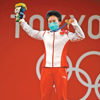 首个比赛日 中国体育代表团获三金