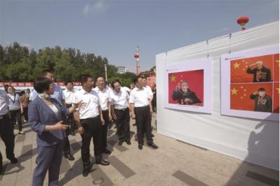 """吕梁市举办""""百年航程 奋进吕梁""""庆祝 中国共产党成立100周年书画摄影展"""