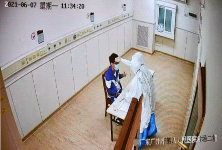 新冠隔离病房里的特殊高考