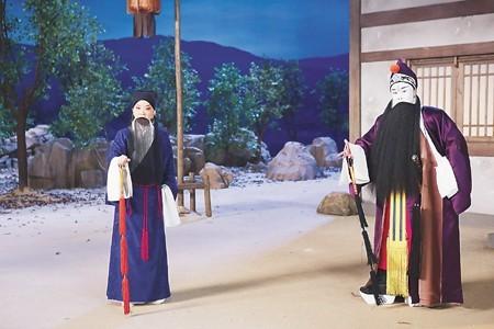 京剧电影《捉放曹》剧照 刘海发 摄