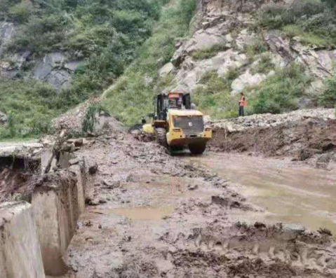 陕西蓝田暴雨过后:3名通信站工作人员失联