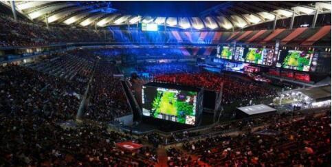 亚运电竞热度升温杭州电竞馆星际漩涡带来数智超能感