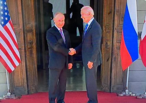 俄美领导人在瑞士会面 普京希望面对面会谈有成效