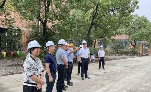 合肥瑶海区主要领导到中国宝武安徽(产业)总部首发项目调研