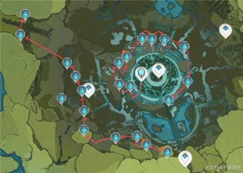 原神水晶块位置分布一览