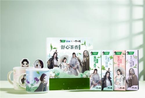 一梦江湖x黑人牙膏:联名礼盒首发,随赠魔性背挂