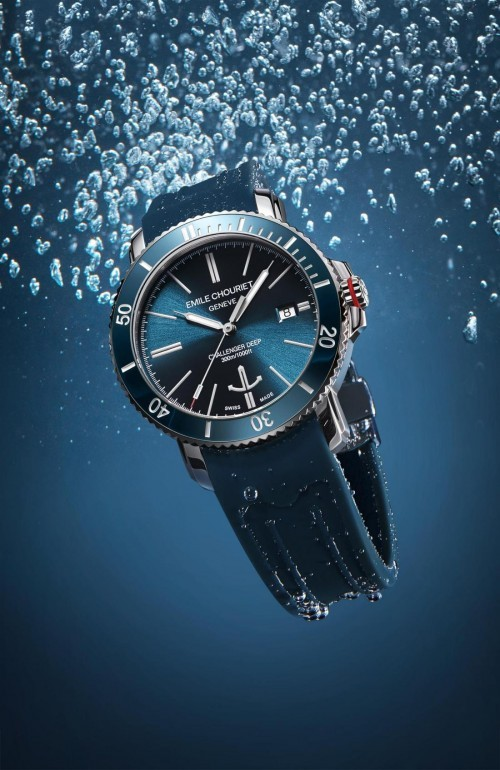 瑞士艾米龙潜水表:专注精神致敬传统钟表技艺