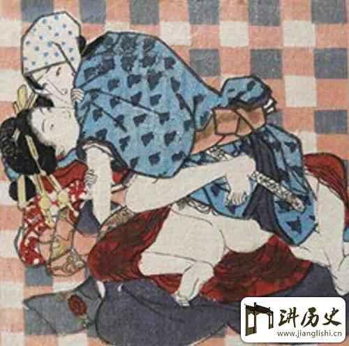 日本江户时代的春宫图 看的都不好意思了!