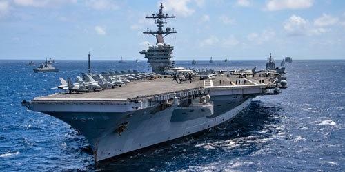 卡尔·文森号航母将前往印太,护航舰艇有大变化