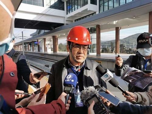 祖国大陆距台湾最近铁路通车运营,结束了平潭岛不通铁路的历史