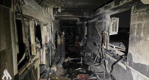 伊拉克新冠定点医院氧气罐爆炸引发火灾,82人死亡