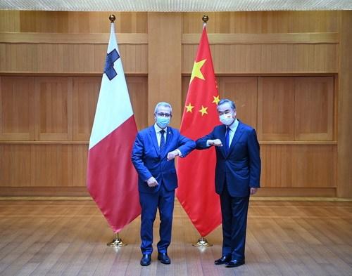 """王毅:欧盟对华""""三重定位""""相互矛盾"""