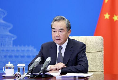 王毅出席首次阿富汗邻国外长会
