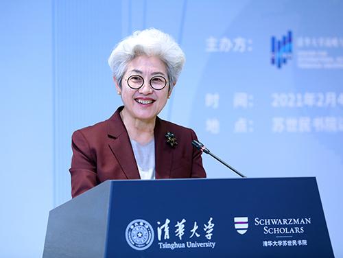 傅莹:加强国际传播让世界听到更多中国人的观点