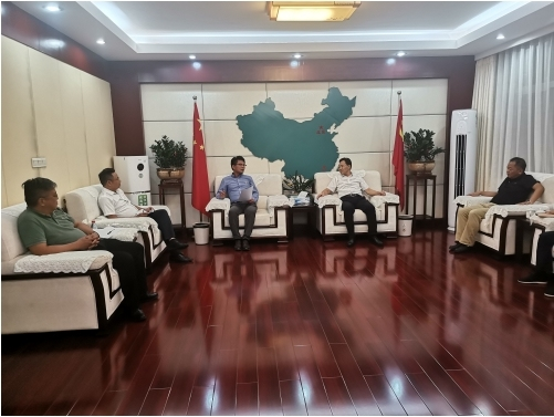 广佛地区智能木工机械项目考察团远赴赣州信丰县 考察当地的营商环境