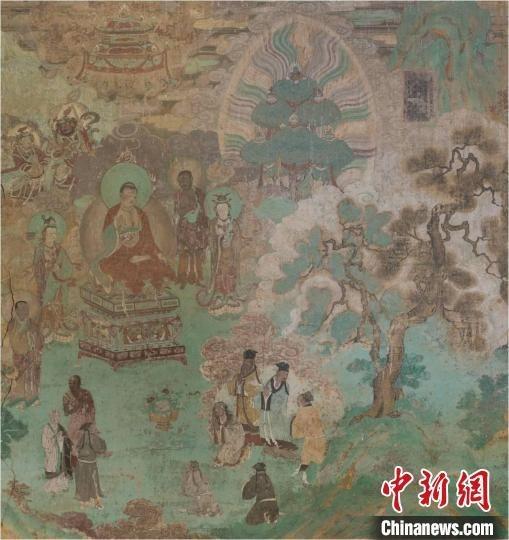 瞿昙寺壁画充分展示了汉藏艺术融合的特点 故宫博物院供图