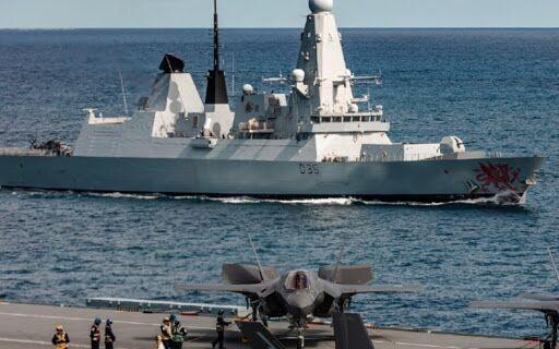 俄首次曝光:数月前在黑海驱离英国海军驱逐舰