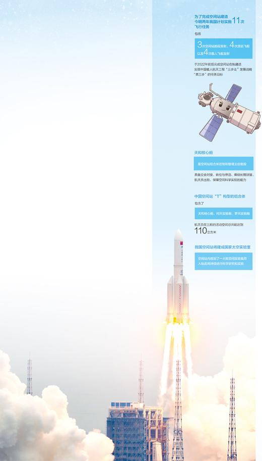 """中国空间站后续将建成""""三室两厅还带储藏间"""""""