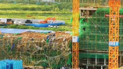 济南绿城春来晓园违规骗取预售许可证,因在建工地倒塌暴露问题
