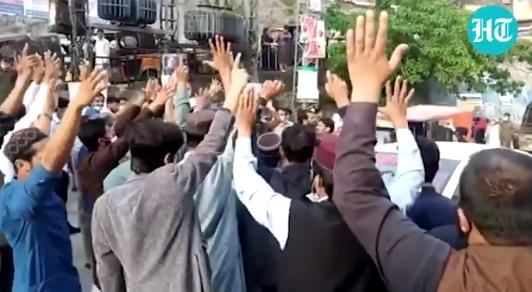 巴基斯坦爆发反法示威,法使馆呼吁民众离开