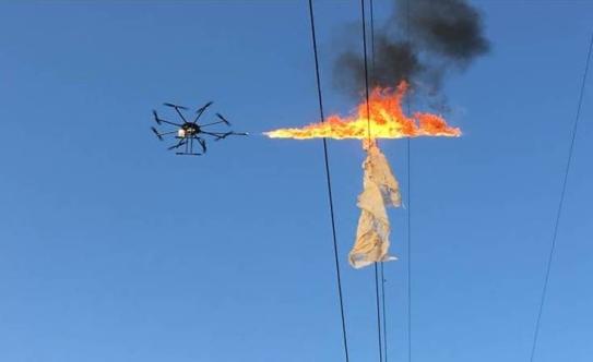 俄军将装备喷火无人机 主要用于城市巷战