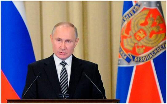"""普京警告:外部势力干涉俄社会政治事务的企图""""绝对没前途""""!"""