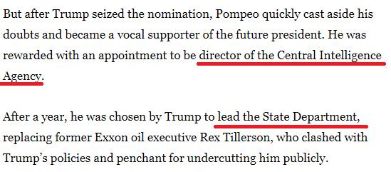 """谎话太多!美国媒体送蓬佩奥一个外号""""匹诺曹"""""""