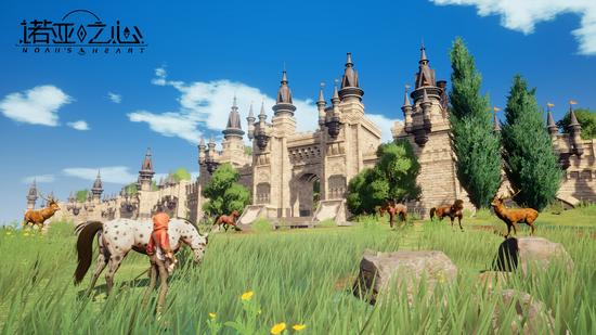 手游《诺亚之心》超大世界的MMORPG场景