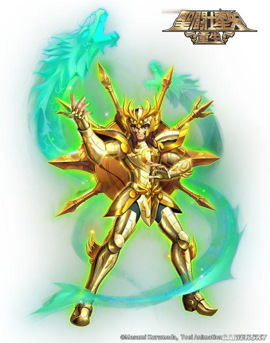 《圣斗士星矢:重生》圣裁天秤 神圣天秤座·童虎介绍