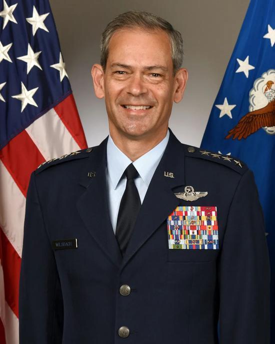 ▲资料图片:美国太平洋空军司令部司令肯尼思·威尔斯巴赫。(美国空军网站)