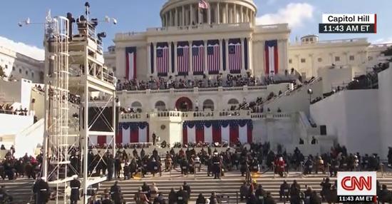拜登宣誓就任美国总统,就职演说透露这些信息