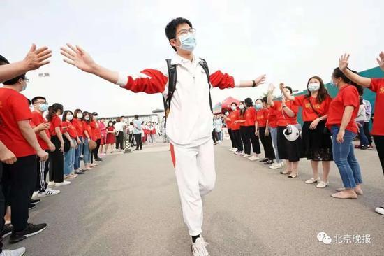 多图直击!北京45238名高考生今日开考
