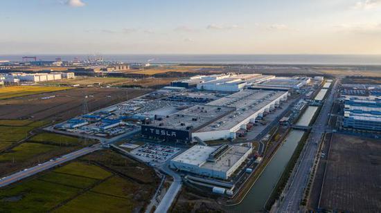 特斯拉上海超级工厂或扩建,产能有望进一步提升