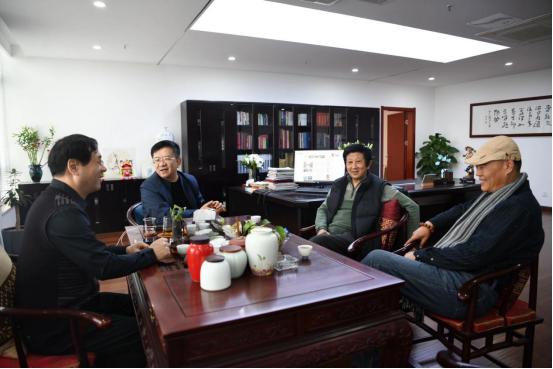 书画双修 笔墨相宜——著名书画家戴丕昌、赵德勋走进文化视界