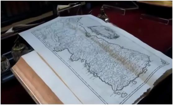 文在寅出访时看到一副古地图:证明独岛是韩国领土