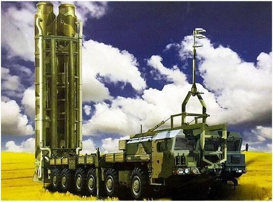 早前俄方公布的S-500发射车效果图